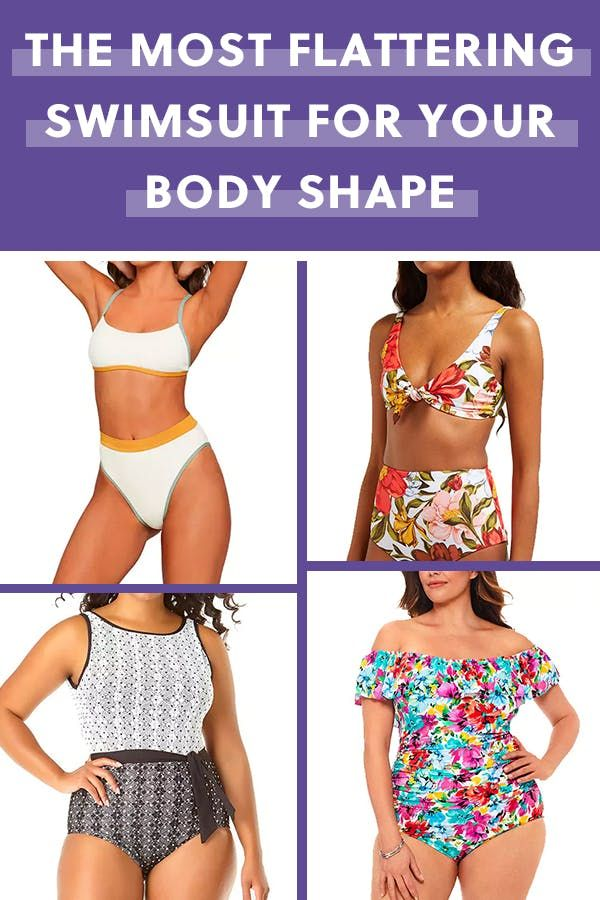 bdb373d6a1 The Most Flattering 2019 Swimsuit for Your Body Shape | Summer Looks ...