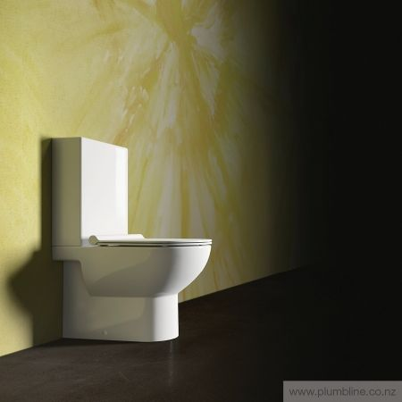 Sfera 63 Back To Wall Toilet Suite With Slim Seat - Toilets & Bidets…
