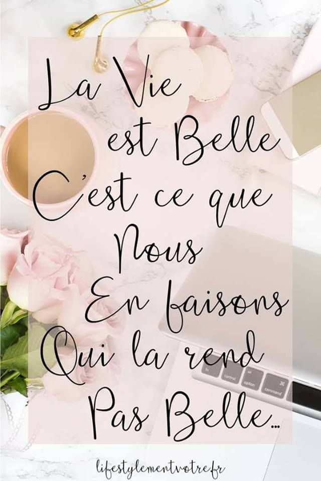 La Vie Est Belle Citation : belle, citation, Belle...., Wedding, Events,, Beauty, Personal, Care,, Decor, Decals