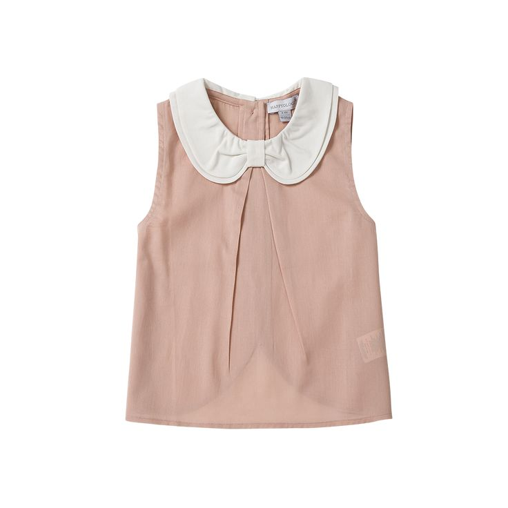 Pink Collared Blouse / The Happyology Artist Collection