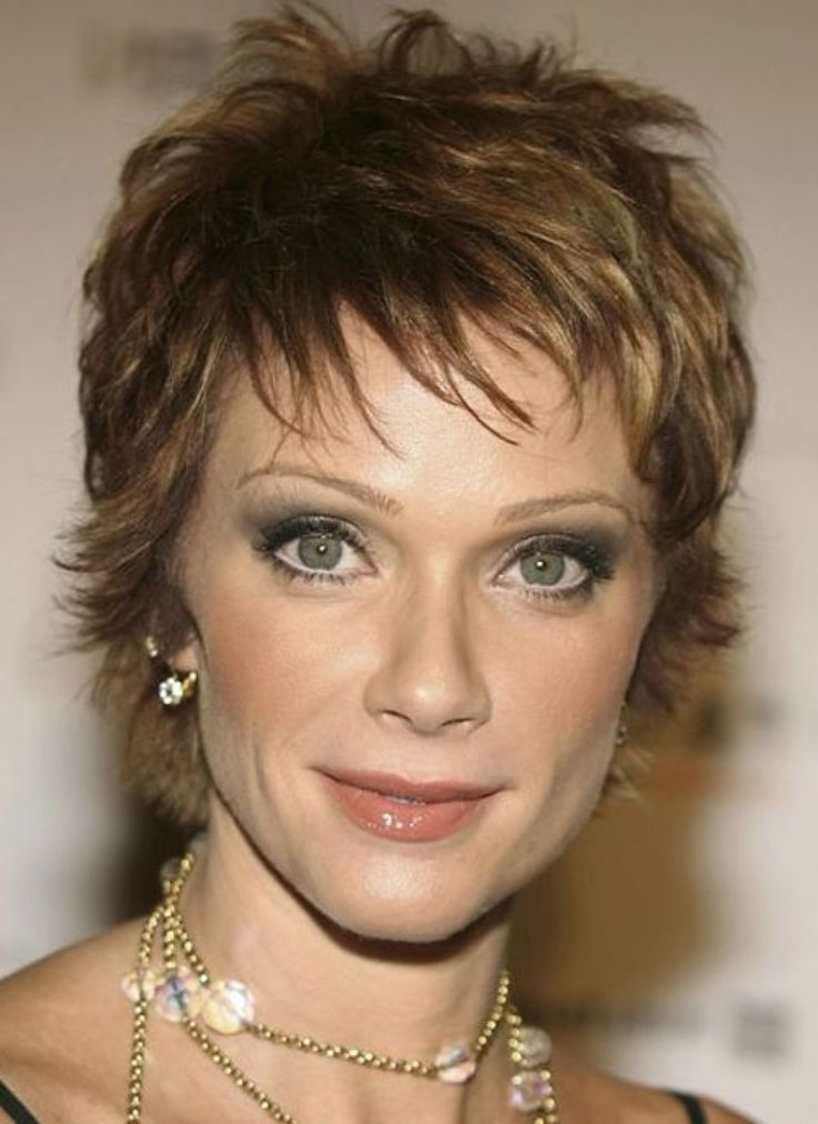 Hairstyles For Thin Hair Over 50 Is Here Now With Many Pictures That Will Giving You Inspiration : Short Pixie Haircut For Women Over 50 With Thin And Short Length , This Style Is Using Normal Cutting Scissor For Cut The Entire Hair