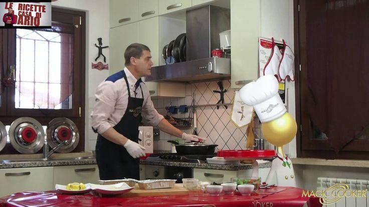 Le fettine panate preparate da Dario con Magic cooker 136