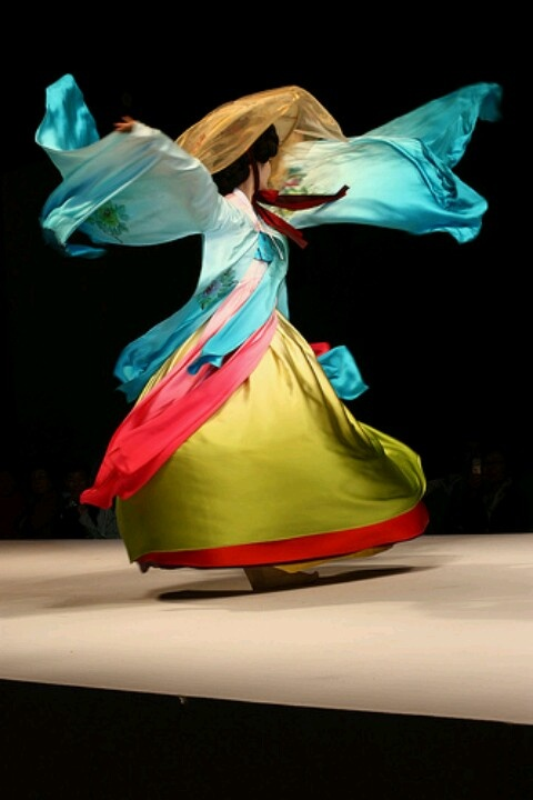 Hanbok: thIs reminds me of dance segments as well as the flying garments of warriors.