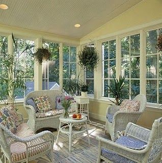 Attractive Sunroom Additions: Ideas For Stylish Sunrooms