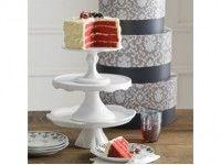 Présentoir à gâteau Le Piédestal grand, Le Piédestal moyen et Le Piédestal petit