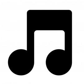 Dibujo de nota musical