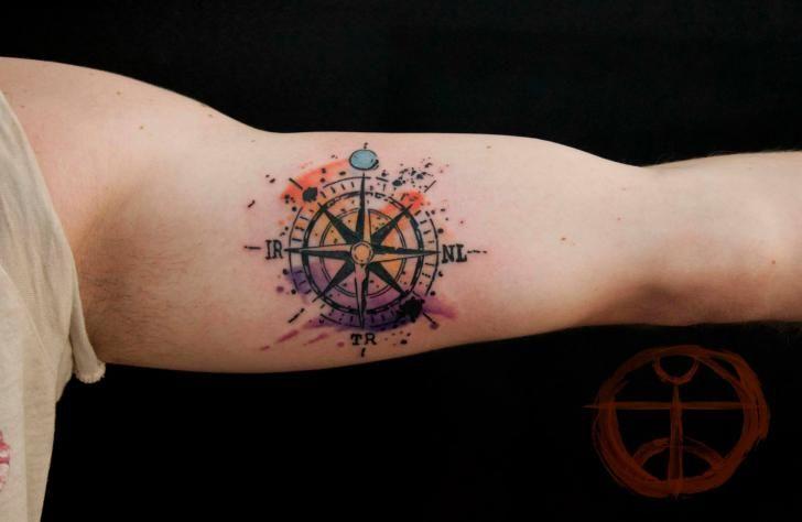 rosa delos vientos tattoo - Buscar con Google