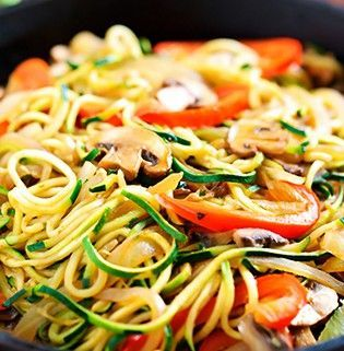Tallarines de verduras – Reto VIVRI®