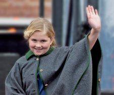 Wie schön zu sehen! Prinzessin Amalia kopiert schon jetzt ihre Mama!