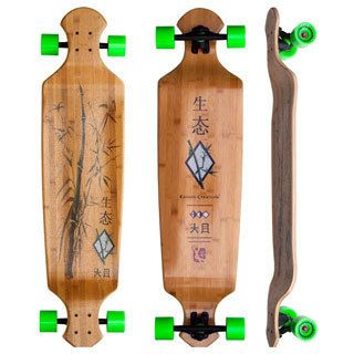 This board has been my sanity. Along with the big stick. SUP. Kahuna Creations Bamboo Drop Deck Longboard