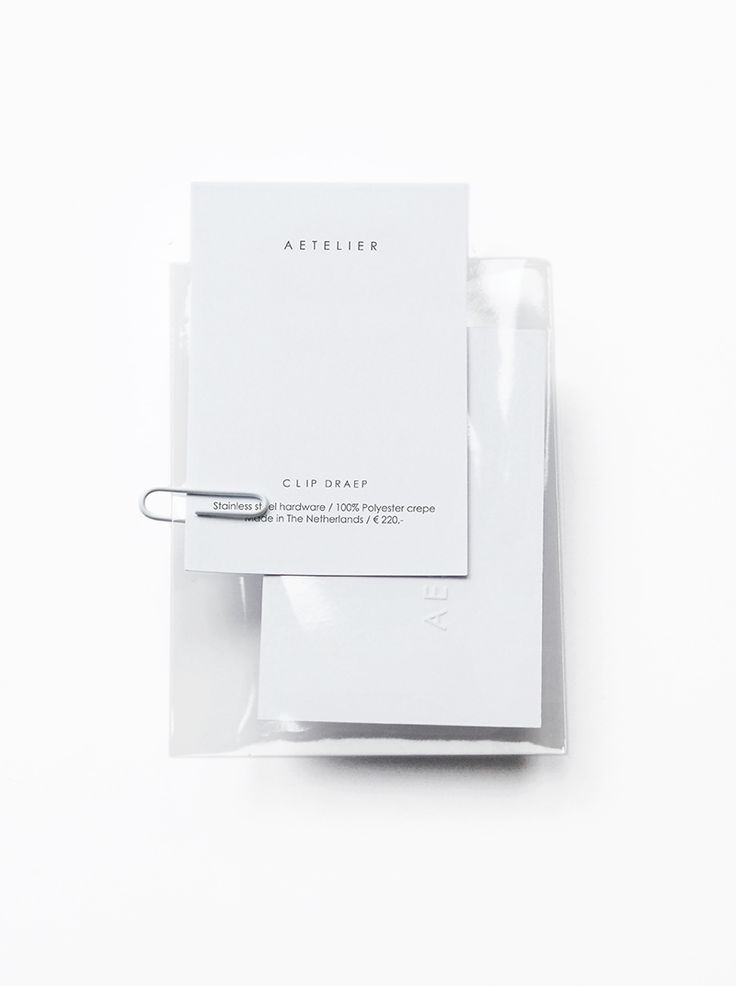 Love Aesthetics Aetelier / garment-info card