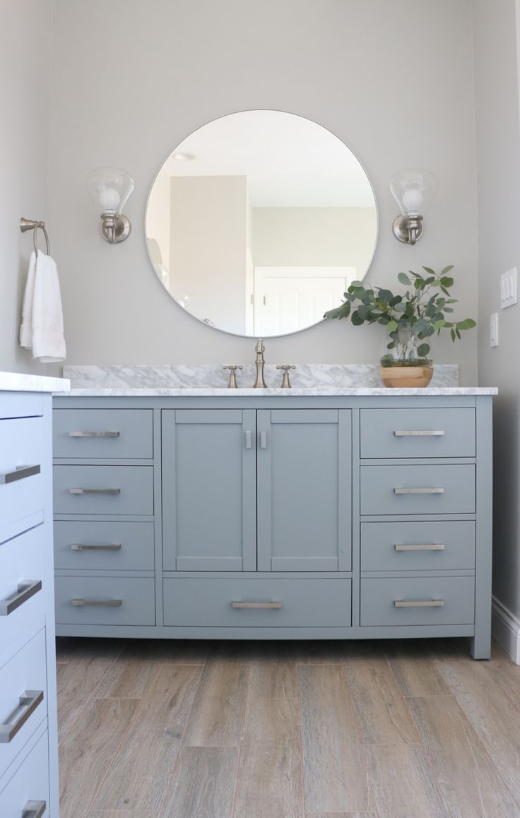 Best 25 Gray Vanity Ideas On Pinterest Grey Framed Mirrors Industrial Kids Vanities And Grey