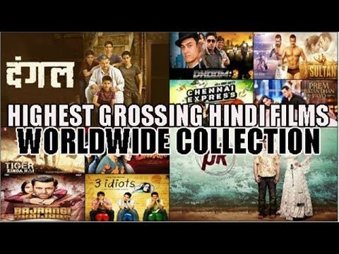 Top 10 Highest Grossing Bollywood Movies based on Worldwide Box Office Collection