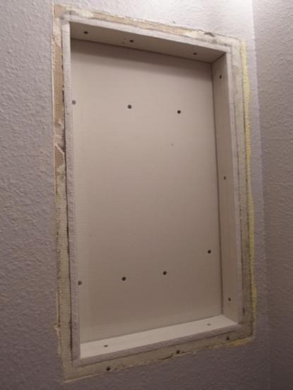 Best 25 medicine cabinet redo ideas on pinterest small - Built in medicine cabinets in bathroom ...