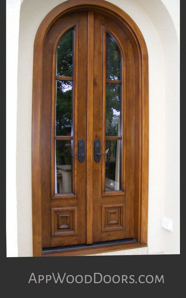 Classic mediterranean style character white oak french for Mediterranean style front doors
