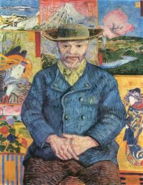 Vincent van Gogh, Ritratto di père Tanguy, 1887