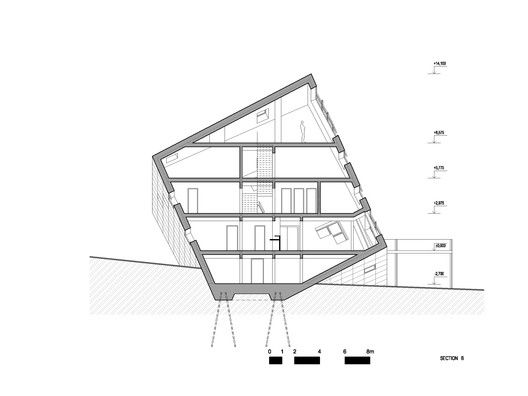 Competition Entry: Atelier 8000 Designs Cuboidal Mountain Hut for Slovakia's High Tatras,© Atelier 8000