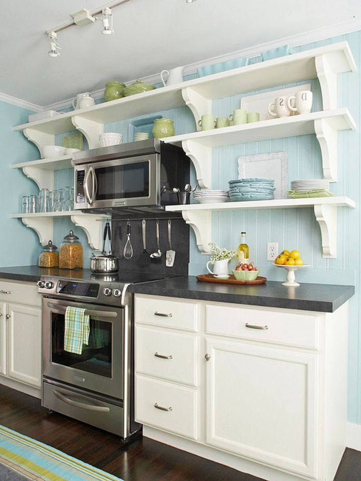 Best 36 Best Galley Kitchen Images On Pinterest 400 x 300