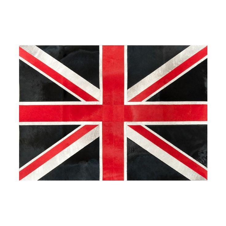 Dywan Union Jack, wymiary: 135x185 cm. Dostępny tylko w naszym showroom! Powsińska 20A Warszawa.