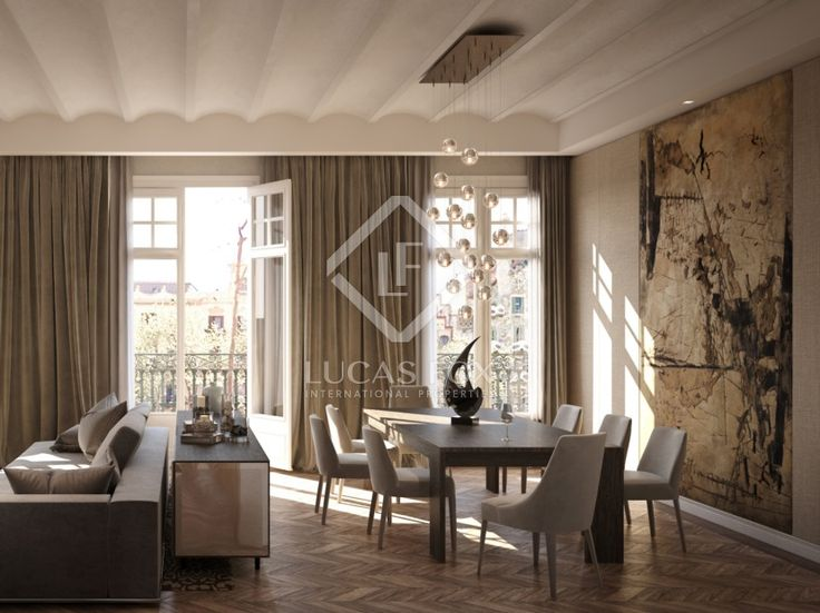 An Exceptional Opportunity To Buy An Apartment On Barcelonau0027s Most  Prestigious Street; Paseo De Gracia