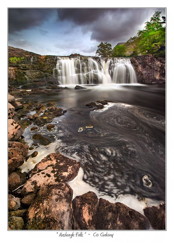 Aasleagh Falls, Co Galway,  Ireland Copyright: Stephen Emerson