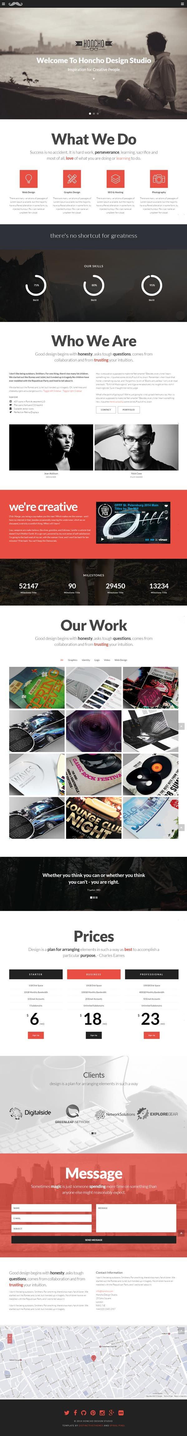 20 best sales page design images on pinterest design websites modern flexible coded responsive wordpress themes with clean and unique design fandeluxe Image collections