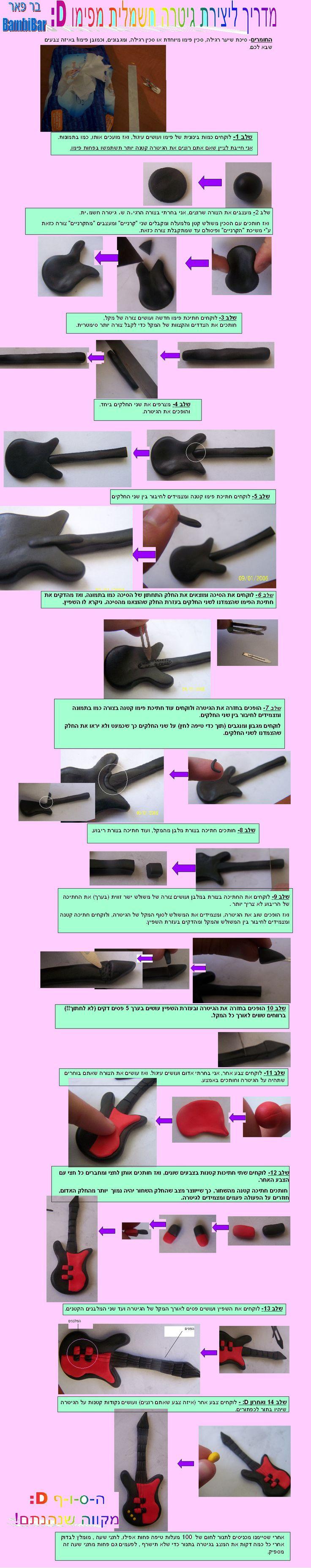 guitar topper tutorial  www.decorazionidolci.it  Idee e strumenti per il #cakedesign