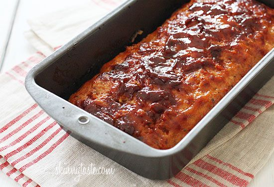 Turkey Meatloaf - mix all the ingredients and throw it in the oven! Done!