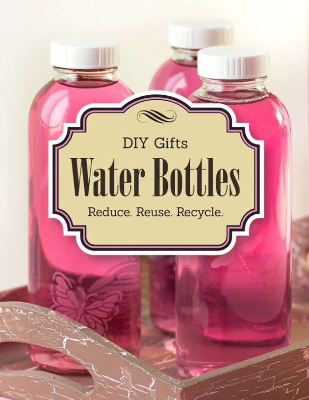 A very cool DIY holiday gift from @LexiesKitchen ... #frugal #DIY #Christmas #gift                                                                    DIY Gift: Water Bottle