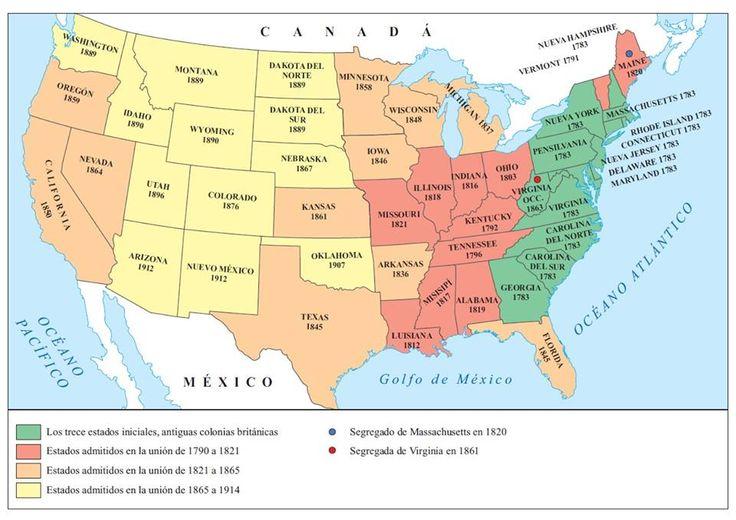 14. La formación de Estados Unidos, hasta 1914