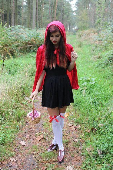 Rotkäppchen Kostüm selber machen   Kostüm Idee zu Karneval, Halloween & Fasching