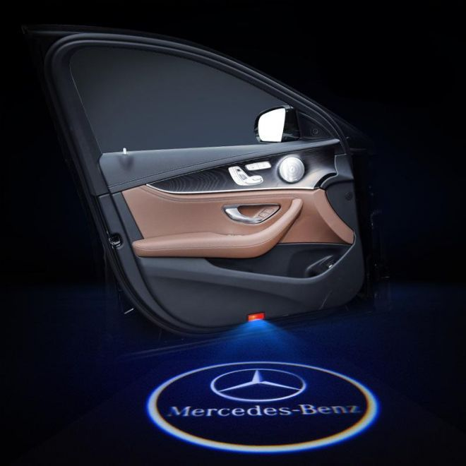 Mercedes Benz Compatible Led Door Projector Light With Logo In 2020 Mercedes Benz Mercedes Mercedes Benz Gl Class