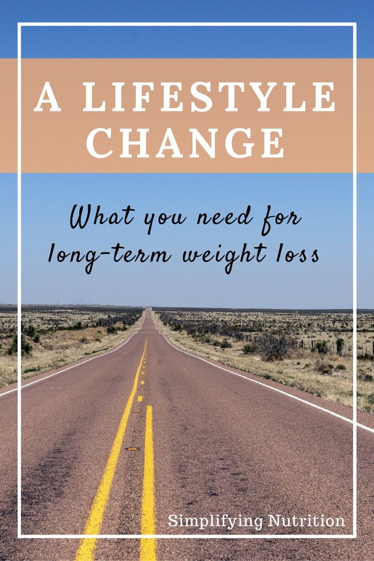 Are you sick and tired of dieting? Thinking about making a lifestyle change? Then you need to read this post! Click through to find out what a lifestyle change is and how it can help you reach your health and weight loss goals (where dieting can't). Kaitlyn @ SimplifyingNutrition.com