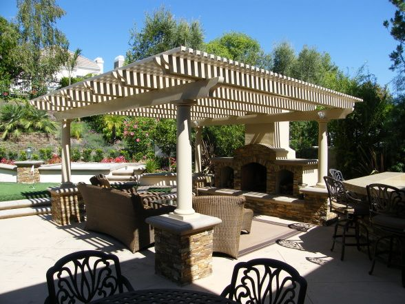 Free Standing Patio Cover Plans | Alumawood patio cover by me., Patio cover  that - 78 Best Images About FREE STANDING PATIO COVERINGS On Pinterest