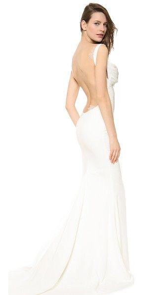 Katie May Вечернее платье Barcelona с низким вырезом на спине