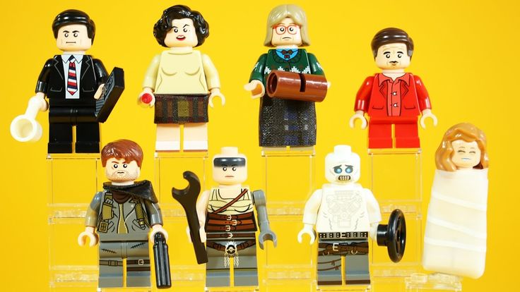 LEGO Twin Peaks & Mad Max: Fury Road | Citizen Brick Minifigure Review