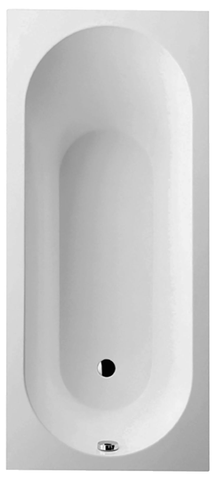 Villeroy Bath - Oberon Square 1700 x 750 BQDMBAT1700BE2VB Quaryl Bath comes in 750 or 700mm width Could be nice. LIKE the shape/feel