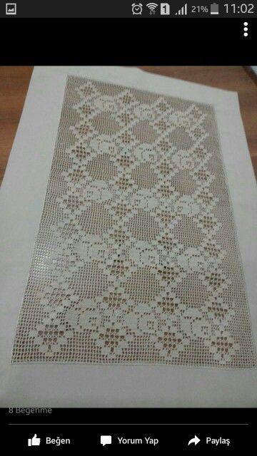 Rectangle crochet