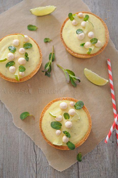 Tartelette citron façon mojito (8)