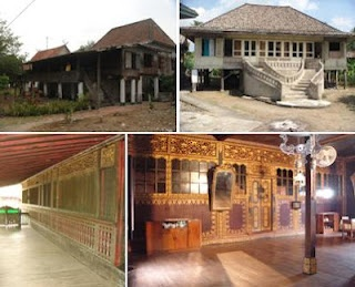 This 200 years old traditional house is heritage of my ancestor, Prince Redjed Wira Laksana, at Ogan Komering Ilir, South Sumatera, Indonesia. It's called The House of A Hundred Pillars. One of a few that still survive with it's genuine architecture.