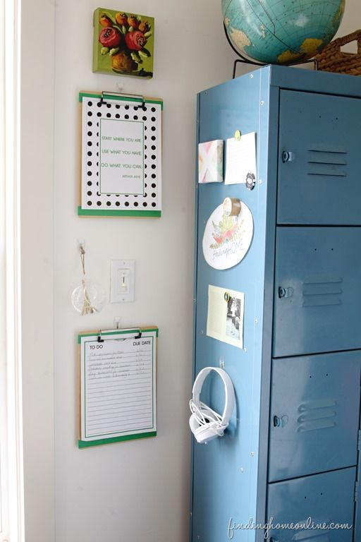 My Best Trick for Keeping My Office Organized (Free Printables)  with Finding Home