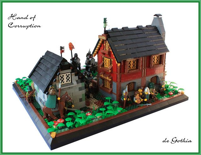 Lego Medieval House 281 best lego medieval town images on pinterest | lego castle