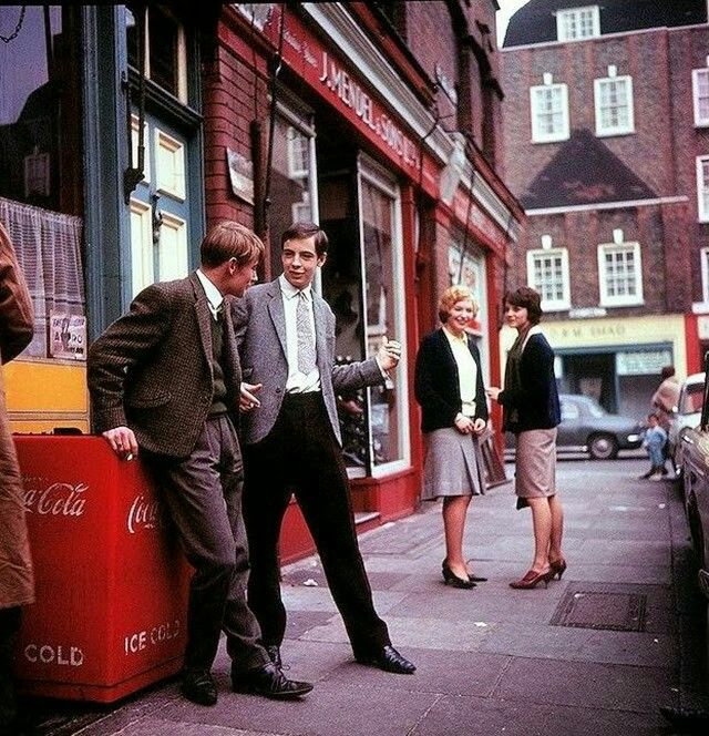 London fashion in the early-mid 1960s