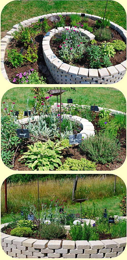 10 best jardin images on pinterest garden deco for Decoration jardin spirale