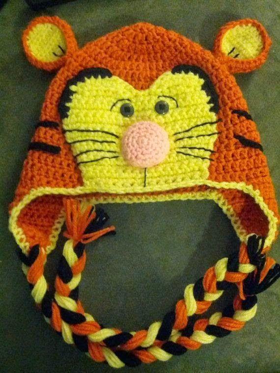 Croche pro Bebe: Gorros e chapéu em croche achados na net