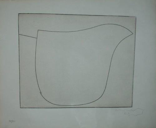 Something about this Ben Nicholson sketch that I love...