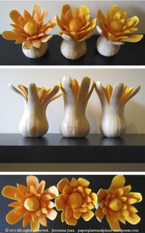 Carved squash
