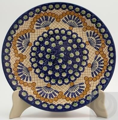 Dinner Plate (Santa Fe Fans) High-Quality Polish Stoneware from the largest supplier in the western United States - The Polish Pottery Outlet in Englewood ...  sc 1 st  Pinterest & 9 best Polish Pottery dinner plates images on Pinterest | Dinner ...