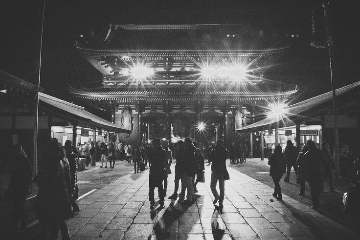 Asakusa Temple - Tokyo - Templo de Asakusa - Tokyo - Japão