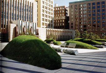 Martha Schwartz - Zen Garden a New York - Manhattan